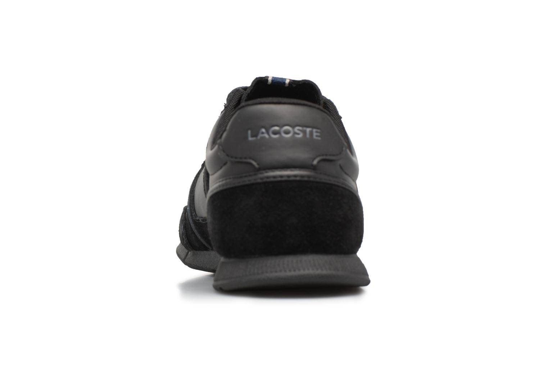Baskets Lacoste MENERVA 118 1 Noir vue droite