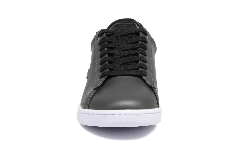 Baskets Lacoste CARNABY EVO 118 7 Noir vue portées chaussures