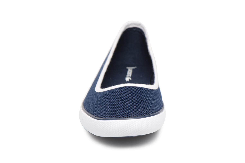 Ballerines Lacoste MARTHE117 1 CAW Bleu vue portées chaussures