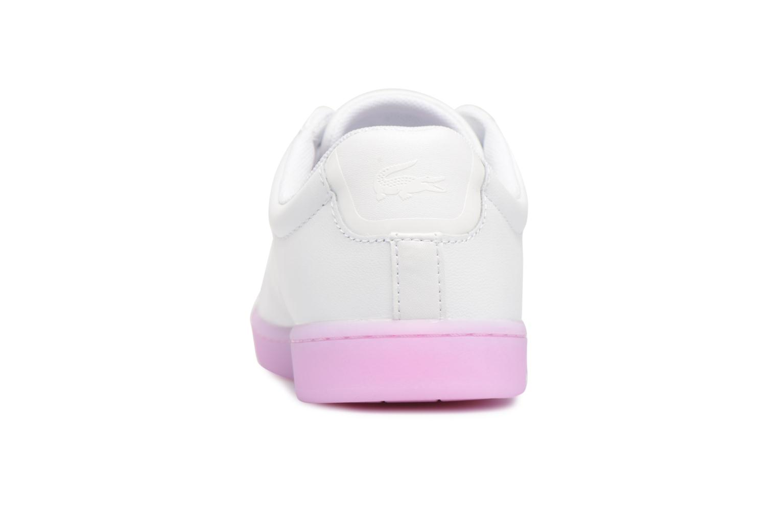 Baskets Lacoste CARNABY EVO 118 3 Blanc vue droite