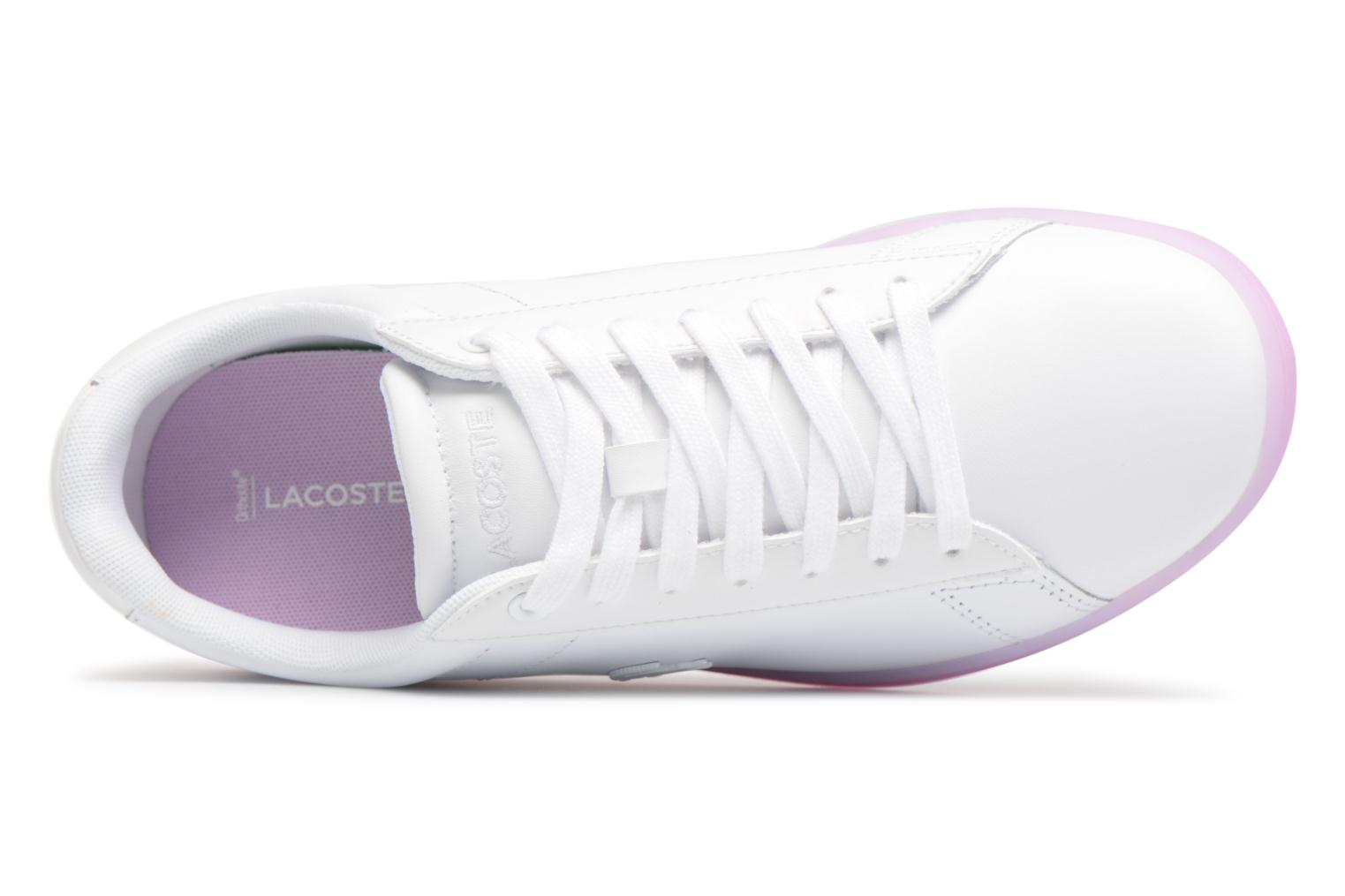 Sneakers Lacoste CARNABY EVO 118 3 Wit links