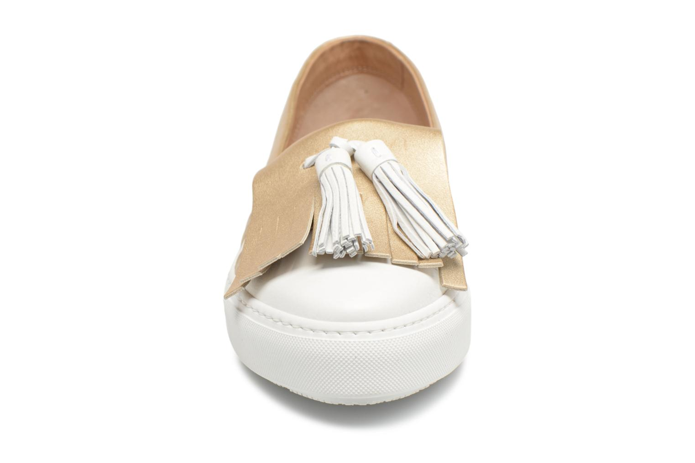 Loafers Fratelli Rossetti Moja White model view