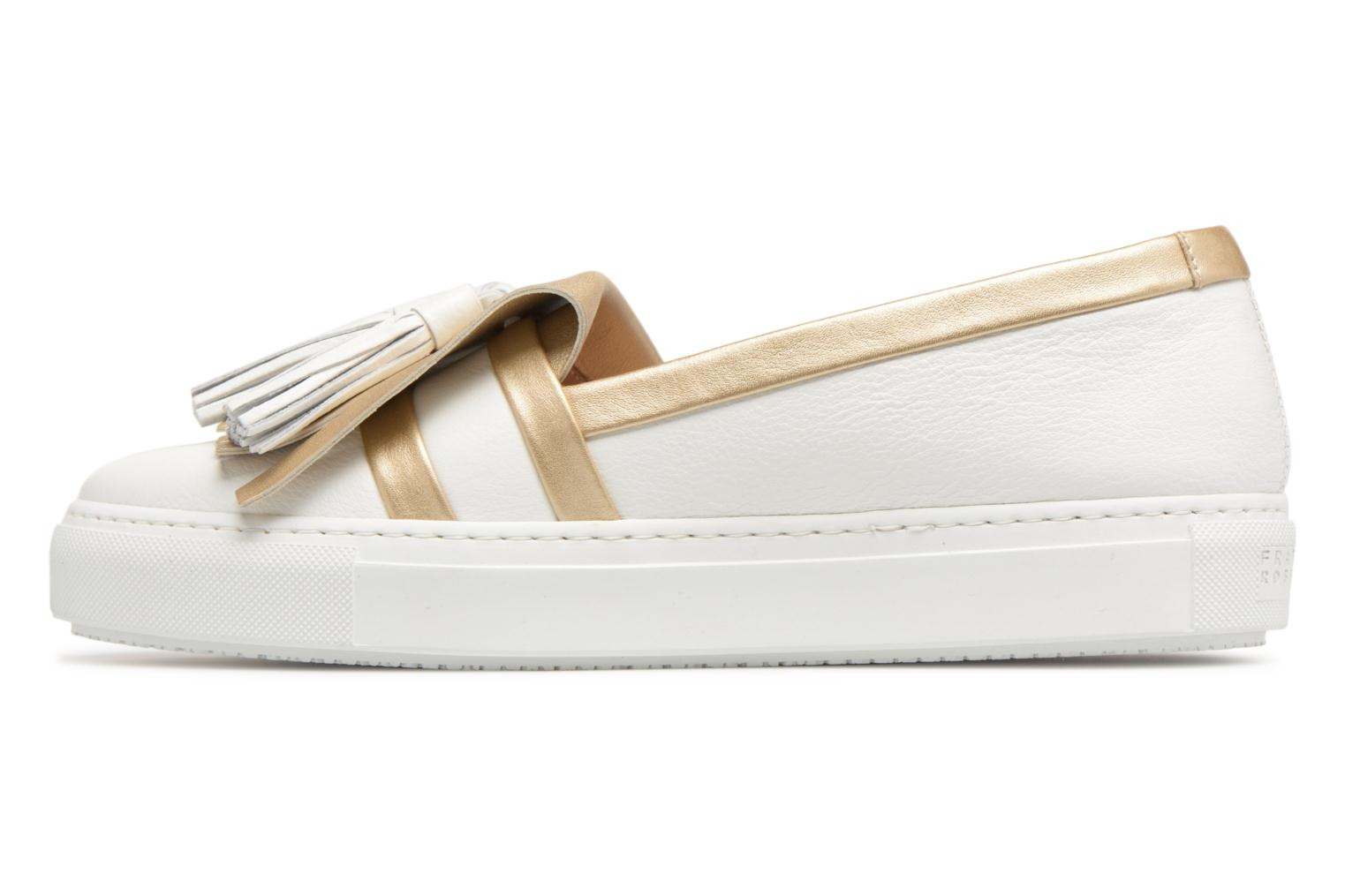 Loafers Fratelli Rossetti Moja White front view