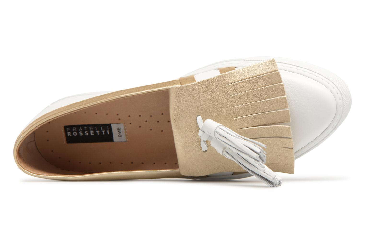 Loafers Fratelli Rossetti Moja White view from the left