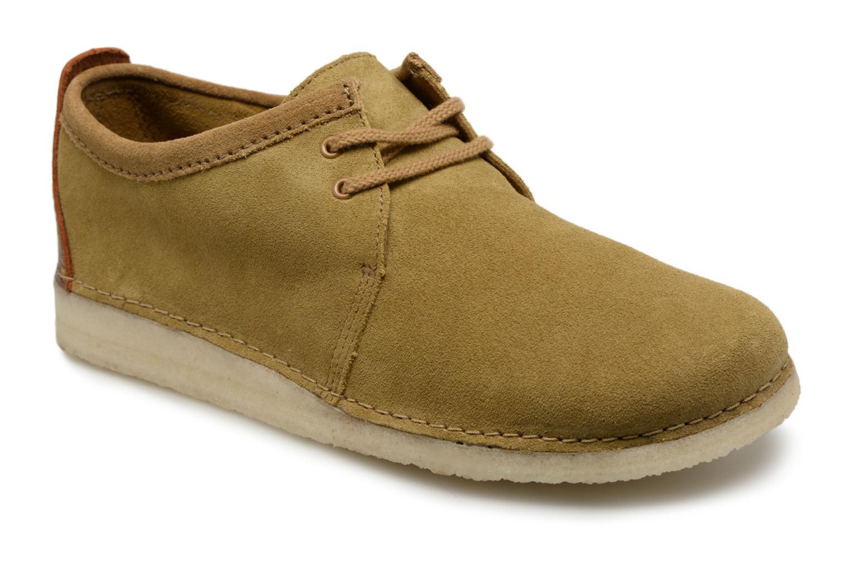 Clarks Originals Ashton M (Beige) - Chaussures à lacets chez Sarenza (318368)