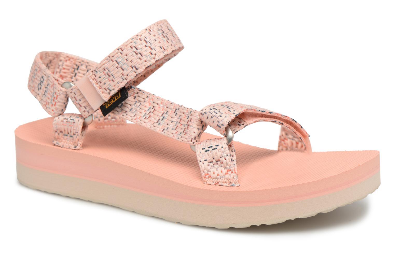 Zapatos promocionales Teva Midform Universal W (Rosa) - Sandalias   Descuento de la marca