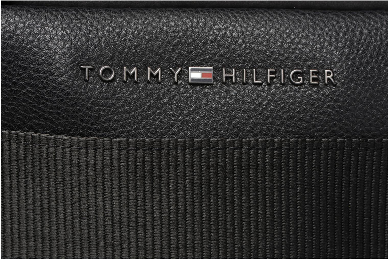 Computertassen Tommy Hilfiger Playful Novelty Computer bag Zwart links