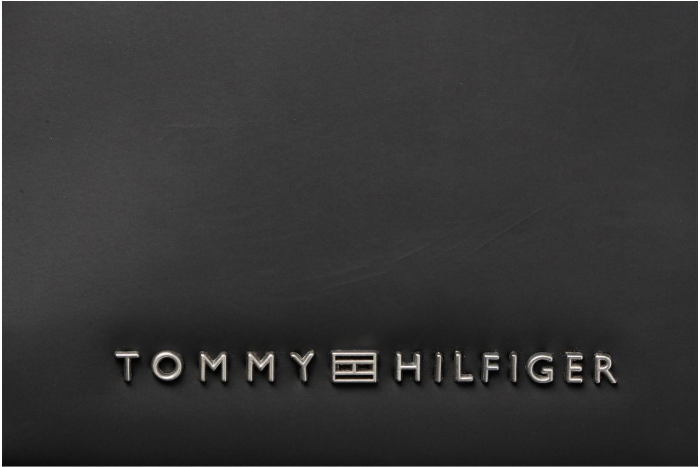 Sacs homme Tommy Hilfiger TH Diagonal Mini reporter Noir vue gauche