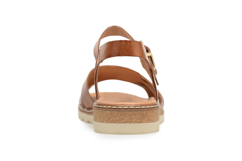 Sandales et nu-pieds Pikolinos ALCUDIA W1L / 0955 brandy Marron vue droite