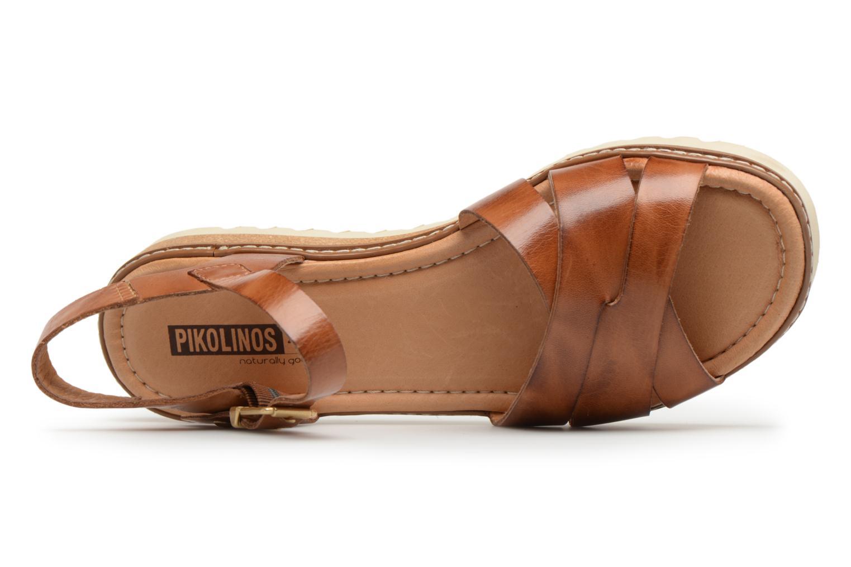 Sandales et nu-pieds Pikolinos ALCUDIA W1L / 0955 brandy Marron vue gauche