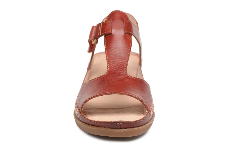 Sandales et nu-pieds Pikolinos CADAQUES W8K / 0578 sandia Rouge vue portées chaussures