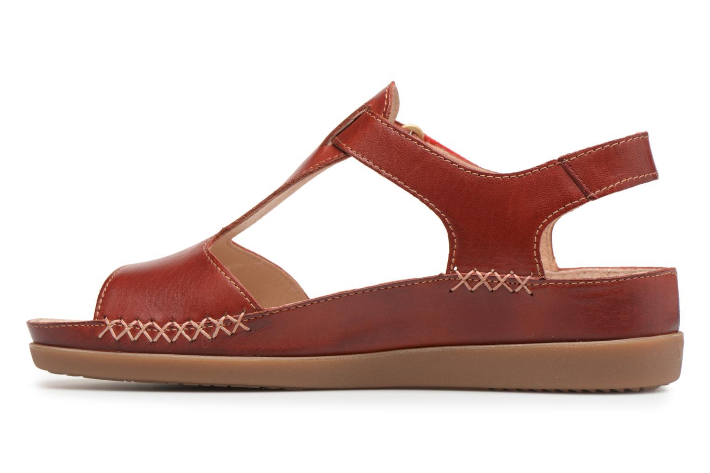 Sandales et nu-pieds Pikolinos CADAQUES W8K / 0578 sandia Rouge vue face