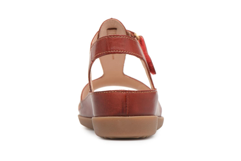 Sandales et nu-pieds Pikolinos CADAQUES W8K / 0578 sandia Rouge vue droite