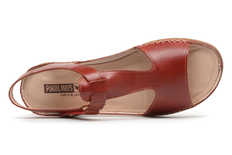Sandales et nu-pieds Pikolinos CADAQUES W8K / 0578 sandia Rouge vue gauche