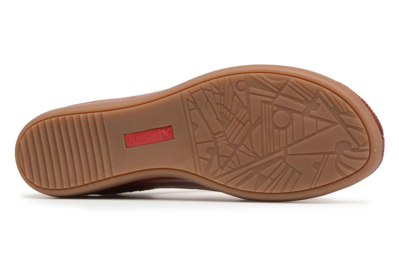 Sandales et nu-pieds Pikolinos CADAQUES W8K / 0578 sandia Rouge vue haut