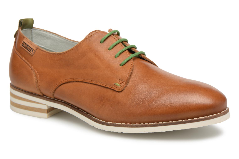 Chaussures à lacets Pikolinos ROYAL W3S / 4552 brandy Marron vue détail/paire