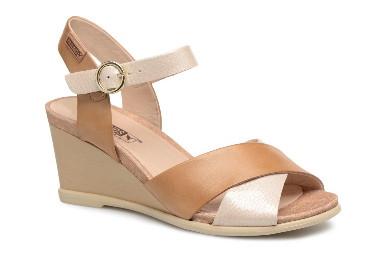 Grandes descuentos últimos zapatos Pikolinos VIGO W3R / 1642 ivory (Beige) - Sandalias Descuento
