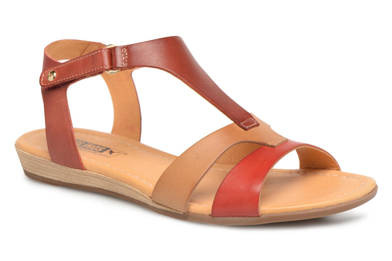 Los últimos zapatos de descuento para hombres y mujeres Pikolinos ALCUDIA 816 / 0752 coral (Marrón) - Sandalias en Más cómodo