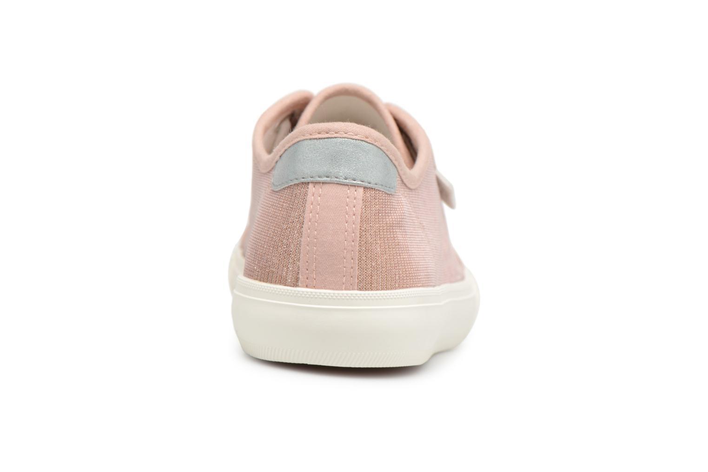 Baskets I Love Shoes Supala Rose vue droite