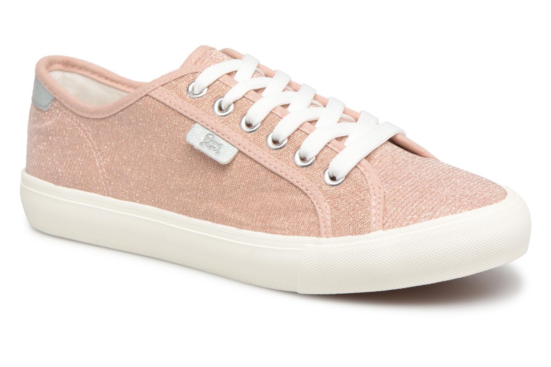 Baskets I Love Shoes Supala Rose vue détail/paire