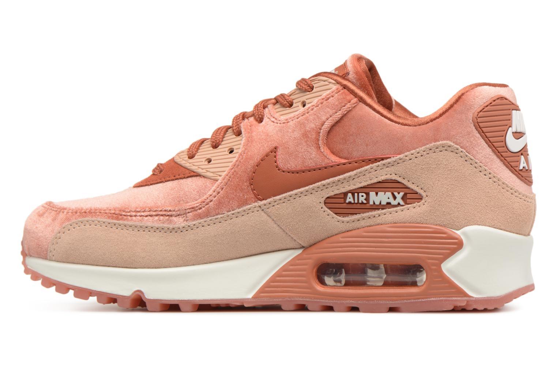 Baskets Nike Wmns Air Max 90 Lx Orange vue face