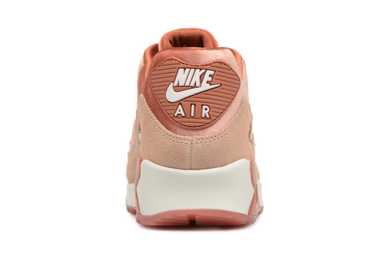 Baskets Nike Wmns Air Max 90 Lx Orange vue droite