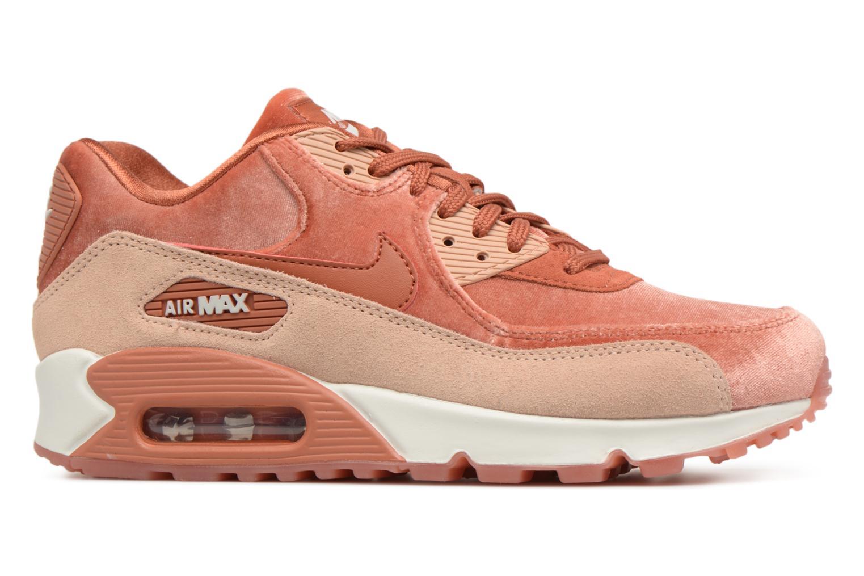 Sneaker Nike Wmns Air Max 90 Lx orange ansicht von hinten