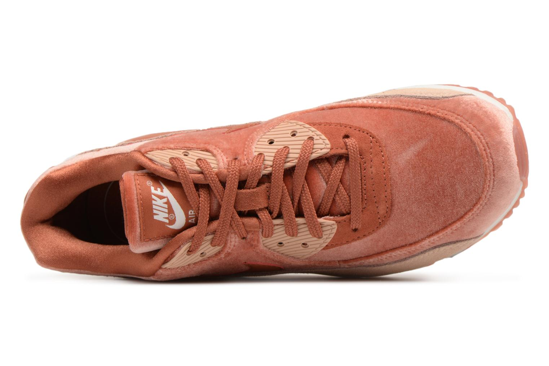 Sneaker Nike Wmns Air Max 90 Lx orange ansicht von links