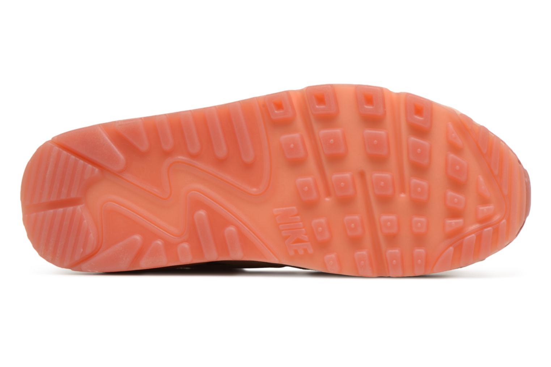 Baskets Nike Wmns Air Max 90 Lx Orange vue haut