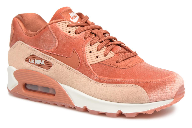 Baskets Nike Wmns Air Max 90 Lx Orange vue détail/paire