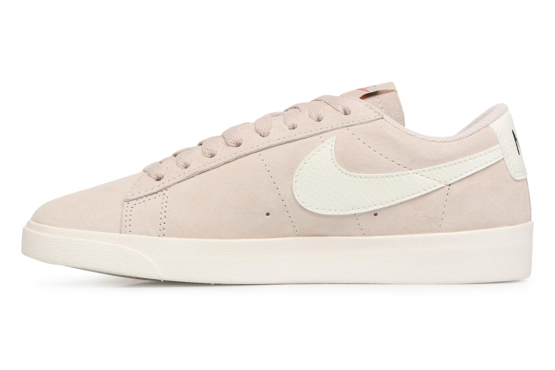 Baskets Nike W Blazer Low Sd Beige vue face