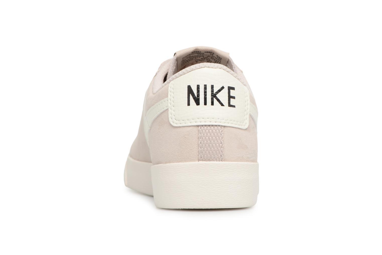Baskets Nike W Blazer Low Sd Beige vue droite
