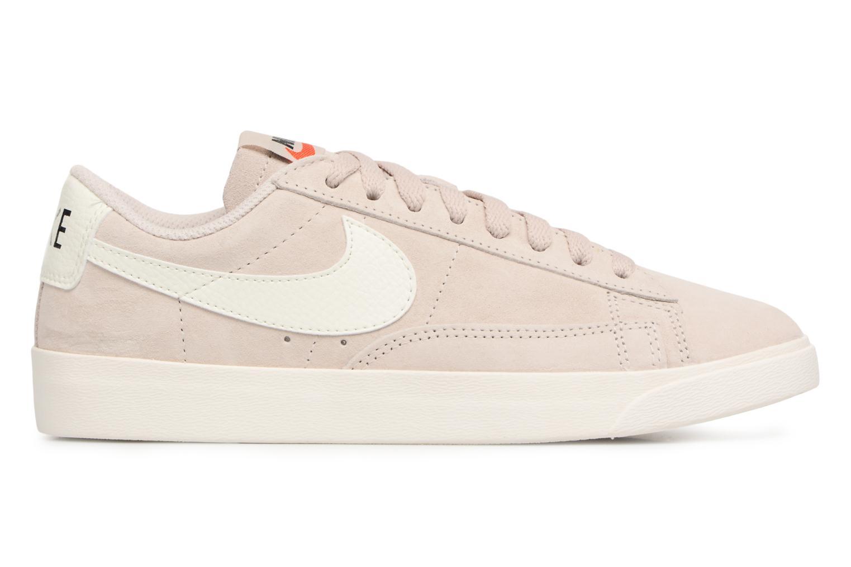 Baskets Nike W Blazer Low Sd Beige vue derrière
