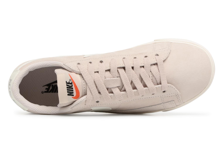 Baskets Nike W Blazer Low Sd Beige vue gauche