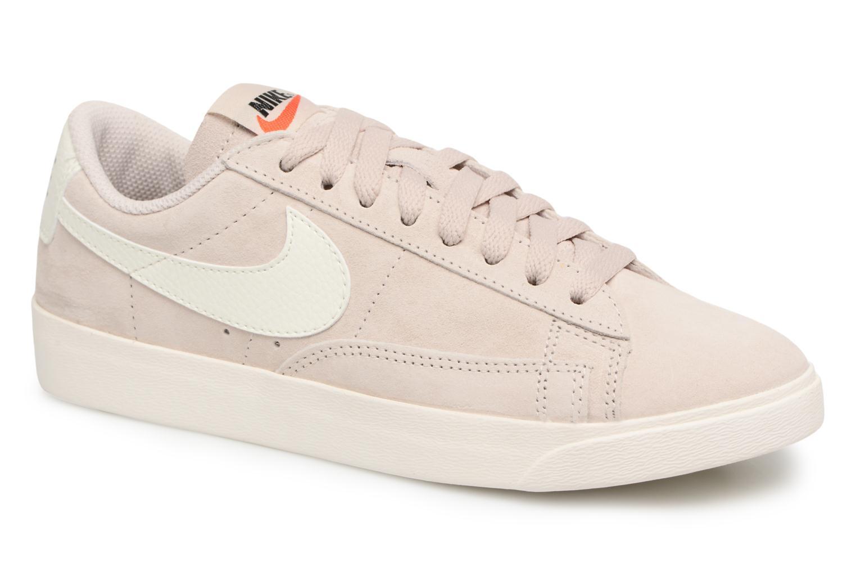 Baskets Nike W Blazer Low Sd Beige vue détail/paire