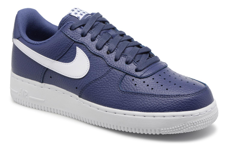 Nike Air Force 1 '07 (Bleu) - Baskets chez Sarenza (327341)