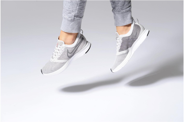Chaussures de sport Nike Wmns Nike Zoom Strike Noir vue bas / vue portée sac