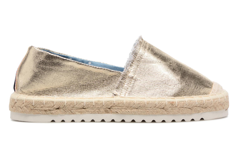 Espadrilles I Love Shoes Beyoni Or et bronze vue derrière