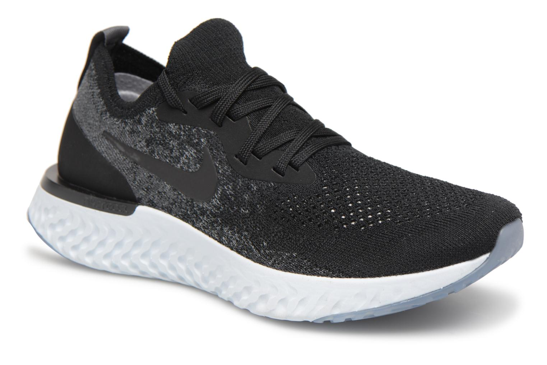 Zapatos promocionales Nike Wmns Nike Epic React Flyknit (Negro) - Zapatillas de deporte   Los últimos zapatos de descuento para hombres y mujeres