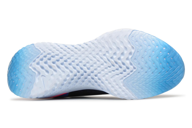 Chaussures de sport Nike Wmns Nike Epic React Flyknit Bleu vue haut