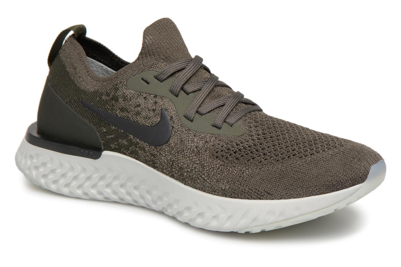 Zapatos promocionales Nike Wmns Nike Epic React Flyknit (Verde) - Zapatillas de deporte   Los zapatos más populares para hombres y mujeres