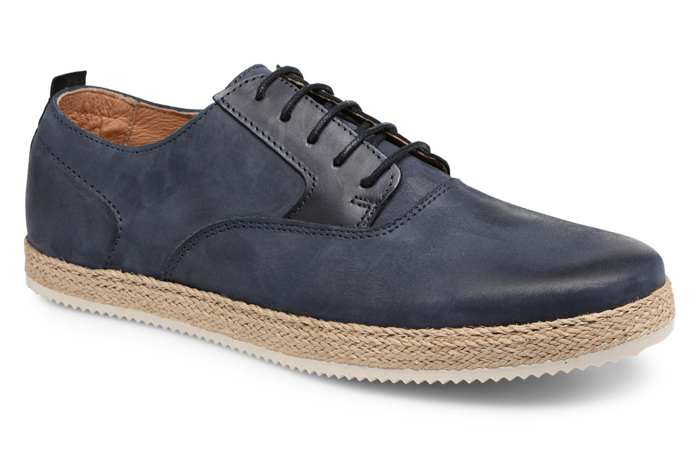 Chaussures à lacets Mr SARENZA Scorda Bleu vue droite
