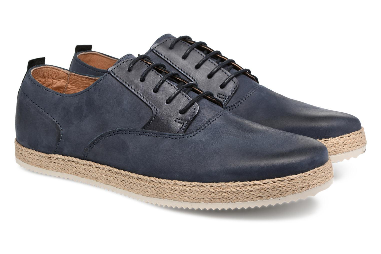 Chaussures à lacets Mr SARENZA Scorda Bleu vue derrière