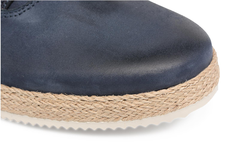 Scarpe con lacci Mr SARENZA Scorda Azzurro immagine sinistra