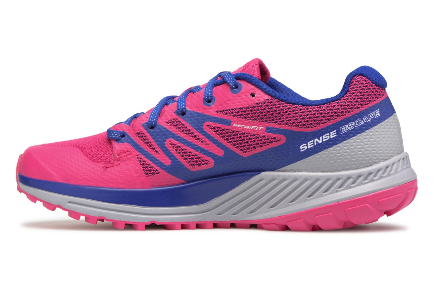 Chaussures de sport Salomon Sense Escape W Rose vue face