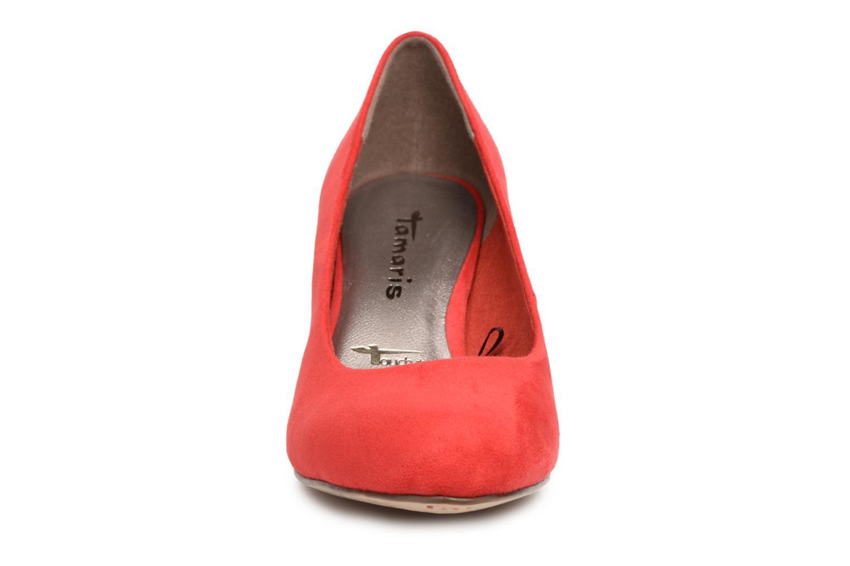 Escarpins Tamaris Origan Rouge vue portées chaussures