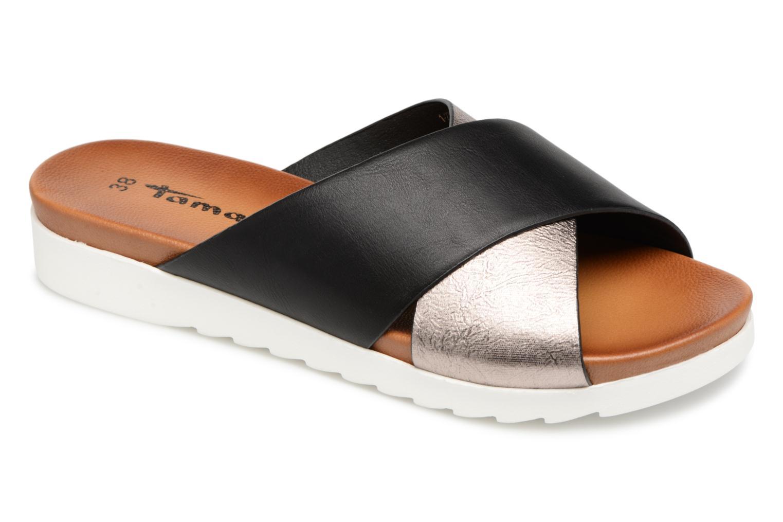 Grandes descuentos últimos zapatos Tamaris Calendula (Negro) - Zuecos Descuento