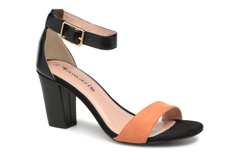 Tamaris Alliaire (Noir) - Sandales et nu-pieds chez Sarenza (319217)