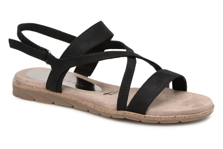 Sandaler Tamaris Aurone Sort detaljeret billede af skoene