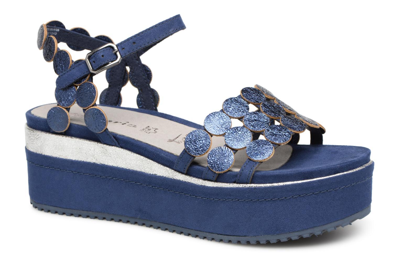 Zapatos promocionales Tamaris Arachide (Azul) - Sandalias   Venta de liquidación de temporada